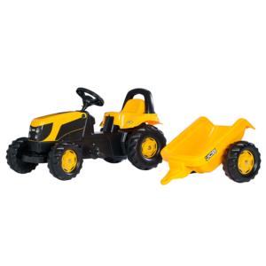 Rolly Toys Kid traktor JCB s prikolico 01261