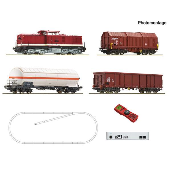 51321 z21 digitalni začetni set z dizel lokomotivo razreda 114