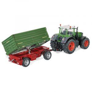 SIKU Prekucna dvostrana prikolica za traktorje na daljinsko upravljanje 6781