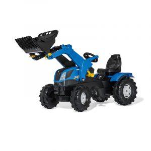 Rolly Toys Farmtrac traktor New Holland z nakladačem 61125